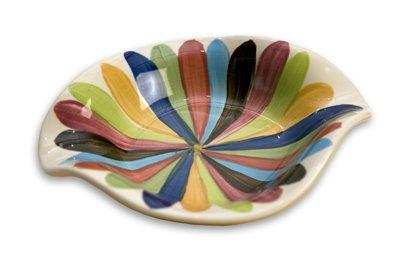 "Gail Pittman Tango 6"" Double Sided Spoonrest -  Gail Pittman Designs"