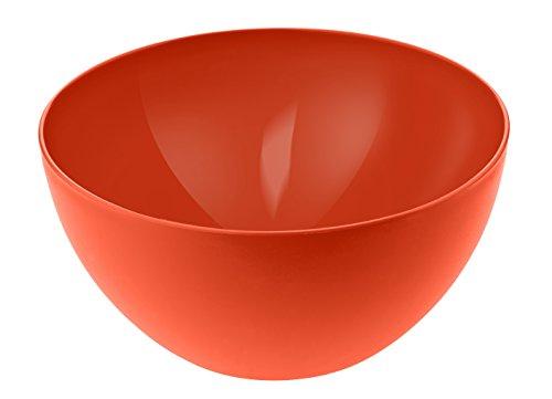 Rotho Caruba Schüssel 3 l, Kunststoff (BPA-frei), rot, 3 Liter (22,5 x 22,5 x 11), 1705302792