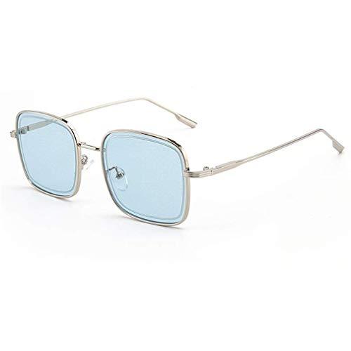 WSDSX Gafas de sol deportivas Gafas clásicas Gafas de sol cuadradas de gran tamaño Protección UV400 Mujeres para exteriores Ciclismo Pesca Correr Acampar Conducción, C