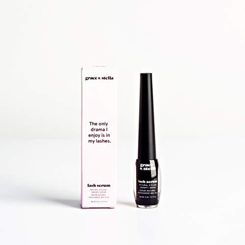 Geavanceerd wimpergroei serum (5 ml) wimpers booster enhancer - 100% natuurlijk voor vollere, langere en dikkere wimpers Voorkom breuk Wenkbrauwgroei behandeling