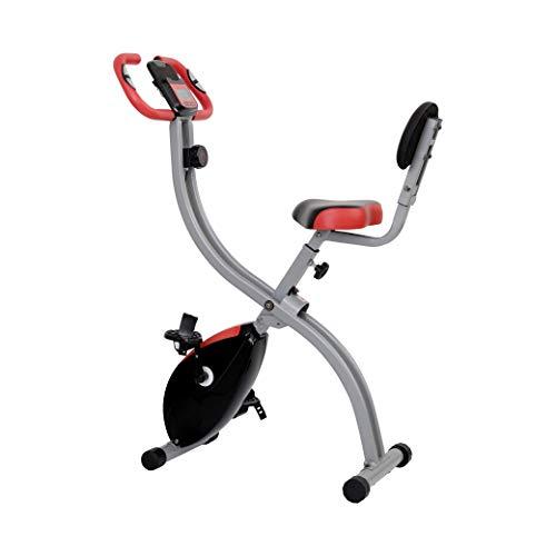 Zoomyo Peak Power Heimtrainer Move Pro, klappbares Ergometer mit acht Widerstandsstufen, Fahrradbiketrainer für gelenkschonendes Ausdauertraining und Stärkung von Herz & Kreislauf