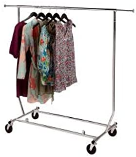 SSWBasics Clothing Rack - Rolling, Collapsible