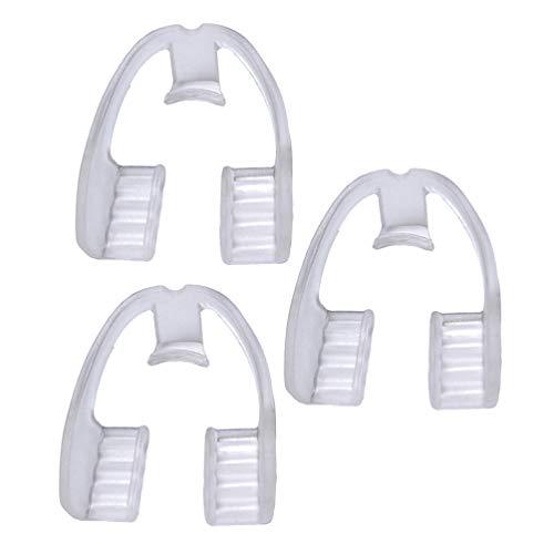 BESPORTBLE 3Pcs Zähne Knirschen Mundschutz Eliminiert Knirschende Zahnschutz Nachtwächter Stoppt Bruxismus Tmj für Erwachsene Männer Frauen Schlafen