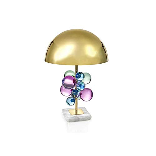 ZLMAY Postmodern Creative Color Crystal Table Lamp Living Room Bedroom Crystal Decorative Table Lamp