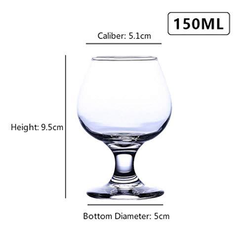 Klassieke Whiskey Cup Rode Wijn Cocktail Brandy Bier Wodka Margaret Goblet Champagne Glas Bar Huishoudelijke Hoge Capaciteit Drinkware Whisky Cup 150ml
