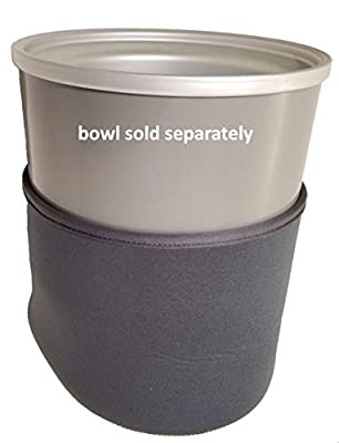 Cover for Ice Cream Maker Bowl - Cuisinart-Compatible Models ICE-30BC and ICE-70 Bowls - Temperature Insulator, Anti-Condensation, Anti-Scratch for Freezer 2-Quart Bowl - BEERGON ICMBC-1000