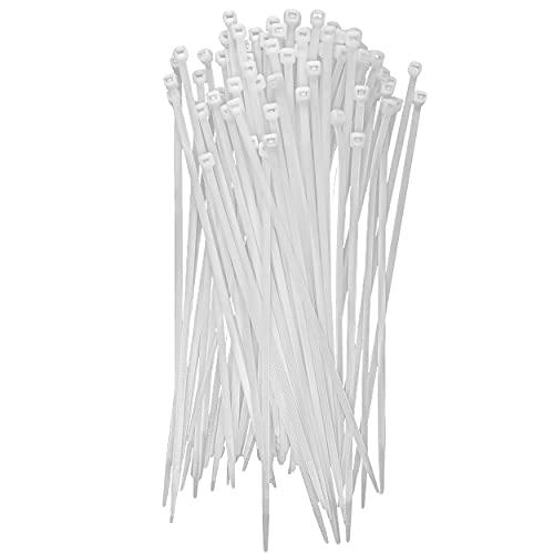 Bridas de Plástico para Cables 2,5mm x 160mm Bridas de Nylon 200...