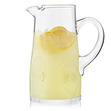 Libbey Impressions Pitcher, includes 1, 80-ounce Glass Pitcher
