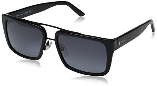 Marc Jacobs Unisex-Erwachsene MARC 57/S HD 2QP 56 Sonnenbrille, Schwarz (Bk Mttblk Bk/Grey Sf)