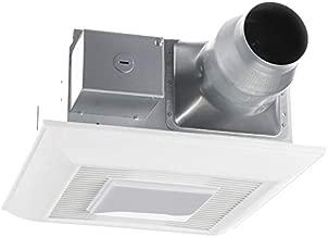 Panasonic FV-08-11VFL5E WhisperGreen Multi-Flow Bathroom Fan, White