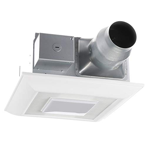 Panasonic FV-0811VFL5E WhisperFit EZ Retrofit Ventilation Fan with Light, 80 or 110 CFM