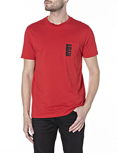 REPLAY M3462 .000.23046P Camiseta, 919 Red, L para Hombre