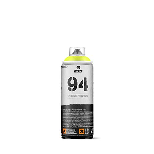 Pintura en spray MTN 94 Fluorescente Amarillo 400ml