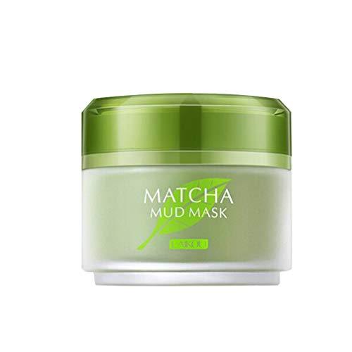 Lurrose La Mascarilla Facial de Té Verde Matcha Elimina Las Espinilla