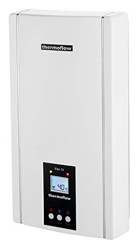 Thermoflow ELEX18 Elektronischer Durchlauferhitzer, 400 V, Weiß