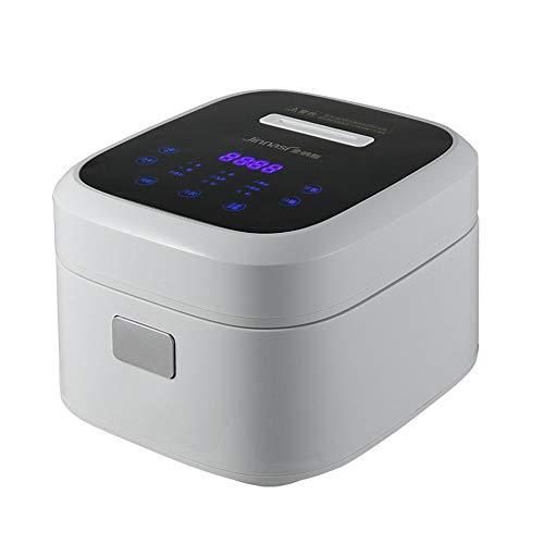 Timed Reiskocher, 3L intelligente Küchengeräte Mini-Schlafreiskocher Haushaltskleingeräte Erdige Brennholz Reis