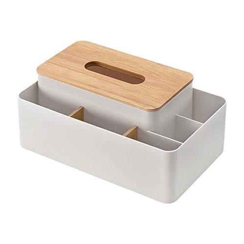 Z-Color Caja de Almacenamiento de Tejidos Multiusos para el hogar, Restaurante Creativo de Estilo nórdico, Dormitorio, Hotel, Caja de pañuelos de librería