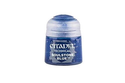 Games Workshop Citadel Pot de Peinture - Technical Soulstone Azul (12 ml)