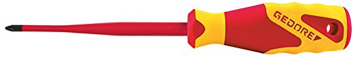 GEDORE 2164 PH2 VDE-Schraubendreher Slim Drive PlusMinus SL/PH 2
