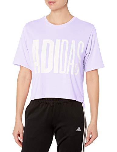 adidas Women's Universal Tee 1 Purple Tint X-Large