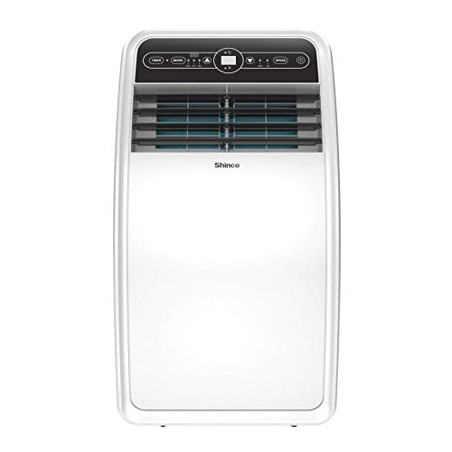 Shinco 8,000 BTU Portable Air Conditioners with Built-in Dehumidifier, Different Fan Modes, for Rooms to 200 sq.ft, Remote Control, Complete Window Exhaust Kit
