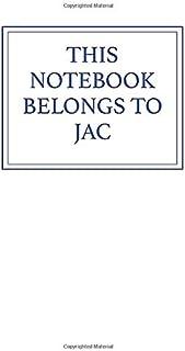 This Notebook Belongs to Jac