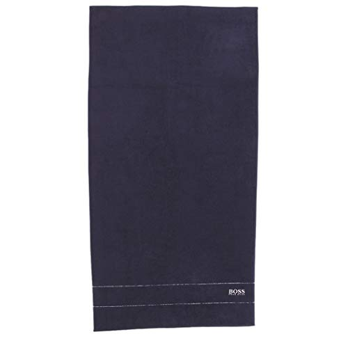Hugo Boss SAUNATUCH Badetuch Handtuch Strandtuch Dark Blue 1,40 x 0,70
