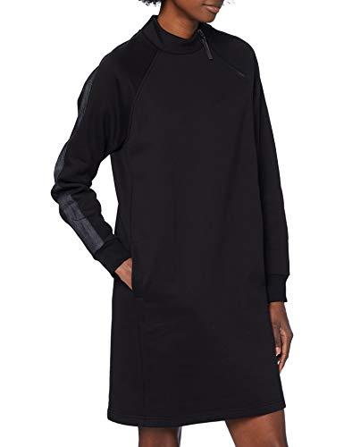 G-STAR RAW Womens Mock Neck Casual Dress, dk Black A612-6484, M
