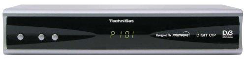 TechniSat Digit CIP-K Digitaler Kabel-Receiver mit Premiere Entschlüsselungssystem und CI Steckplatz