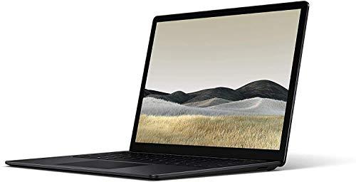 Microsoft Surface Laptop 3 13.5' 2256x1504 Touchscreen Laptop, Intel i5-1035G7, Quad-Core, 8GB RAM 256GB SSD, Iris Plus Graphics, Webcam, Bluetooth, Win 10 Home - Black (Renewed)