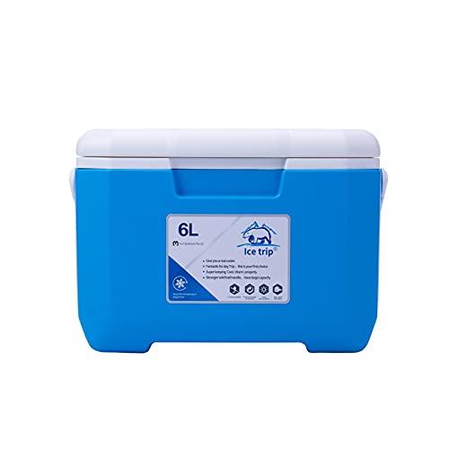 GWHW Cooler Box 6L al aire libre portátil refrigerador de alimentos caja térmica caja de hielo refrigerador aislamiento y refrigeración caja de doble uso 30x19x20.5cm