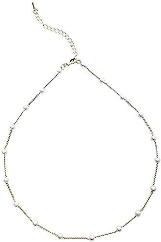NONGYEYH co.,ltd Einfache Temperament Halskette Kragen Süßes Mädchen Mori Super Fee Mädchen Schlüsselbein Kette Hals Kette