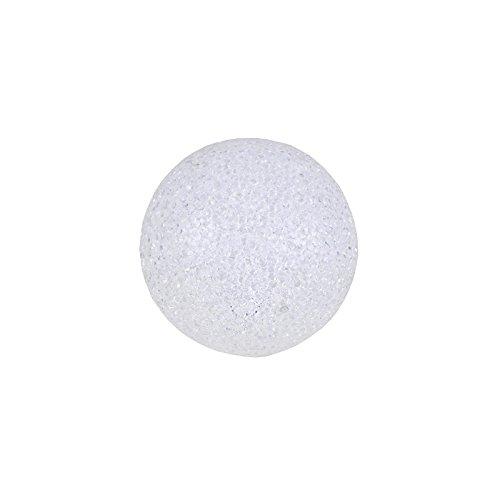 Unbekannt Leuchtkugel mit Wechsel-LED warmweiß/weiß 4Funktionen Verschiedene Größen Kugel, Größen:Ø 10cm