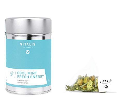 Vitalis - Kräutertee Cool Mint Fresh Energy 36g - Tee von Vitalis Dr. Joseph, Menge:3 Stück