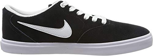 Nike Damen WMNS Sb Check Solar Fitnessschuhe, Schwarz (Black/White 001), 38 EU