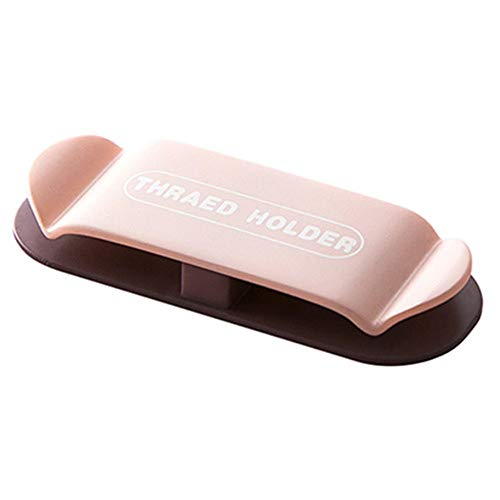 4 piezas cargador titular para mesita de noche adhesivo cable Clips organizador magnético cable de escritorio organizador (rosa)