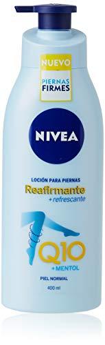 NIVEA Q10 Loción para Piernas Reafirmante + Refrescante en loción reafirmante para piel...