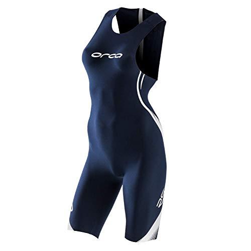 ORCA RS1 Swimskin mit Ärmeln Damen Black/Blue Größe S 2019 Triathlon-Bekleidung