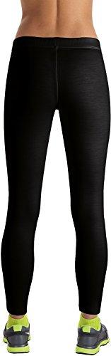 Reda Rewoolution AROSA Leggings Women–biancheria intima termica, Donna, black, L