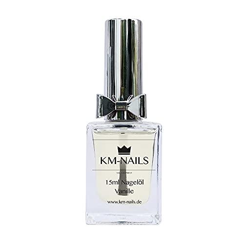 KM-Nails Nagelöl mit Vanille Duft 15ml Paraffin frei