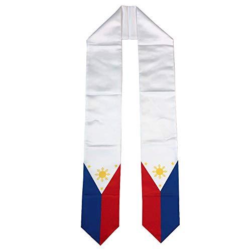 Philippines Flag Graduation Stole/Sash/Scarf