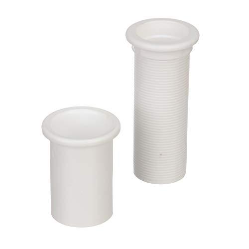 Seachoice 50-19131 Tubo drenaje para vivero plástico, 25 mm x 114 mm