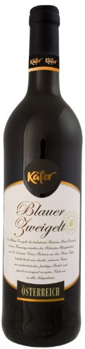 Feinkost Käfer Blauer Zweigelt Qualitätswein Niederösterreich (6 x 0.75 l)