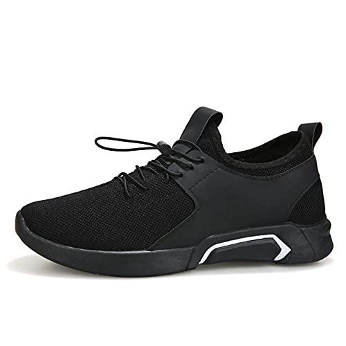 Fnho Calzado para Correr por Carretera,Zapatos de Gimnasia Zapatos Ligeros,Zapatillas de Deporte Respirables de los Hombres, Zapatos Casuales al Aire Libre-A_40