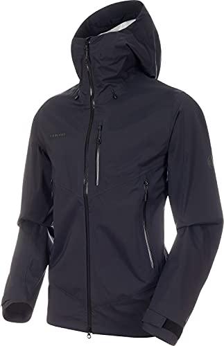 Mammut Men Kento Hooded Hardshell Jacket Black