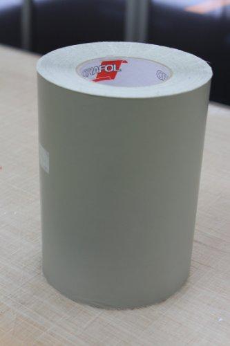ORAMASK 810 sjabloonfolie, formaat: 20 cm x 10 m, stencil film, maskeerfolie, doorzichtig grijs gekleurde speciale PVC-folie met mat oppervlak, geschikt voor voertuigbelettering, schilderen, spuiten, sjablonenwerk, hoge soepelheid voor vlakke en oneffen ondergronden