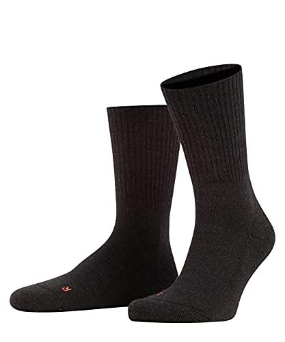 FALKE Unisex Socken Walkie Light, Schurwolle Polyamid, 1 Paar, Grau (Anthracite Melange 3080), 39-41 (UK 5.5-7.5 Ι US 6.5-8.5)