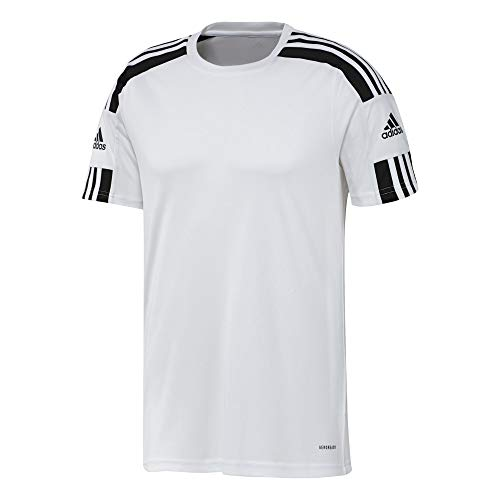 adidas GN5723 Squad 21 JSY SS T-Shirt Mens White/Black M