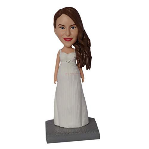 Polymer Clay Figur Groupon Bobbleheads, die aussehen wie Sie 3d Figur Hersteller Skulptur Kuchen Topper Lieferanten China Künstler Team