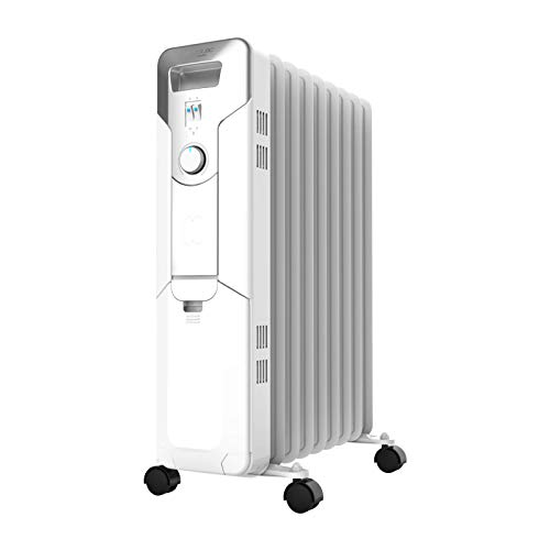 Cecotec Radiador de Aceite Ready Warm 5650 Space. 9 Módulos, Bajo Consumo,...